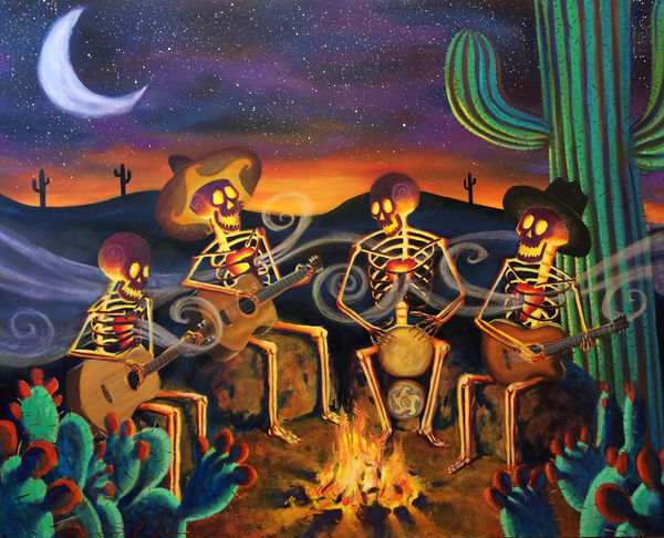 Here's To Life Skeletons Roger Clyne and the Peacemakers