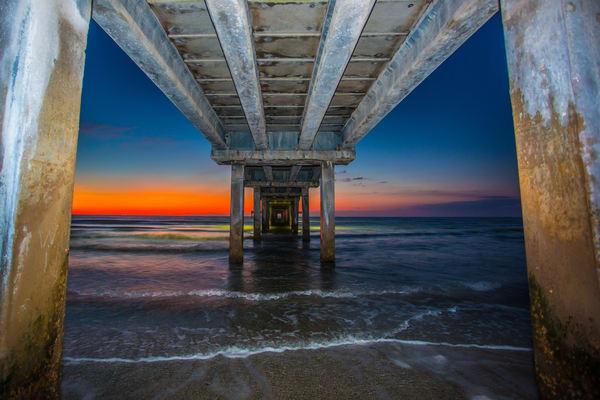 Horace Caldwell Pier Photography Art | John Martell Photography