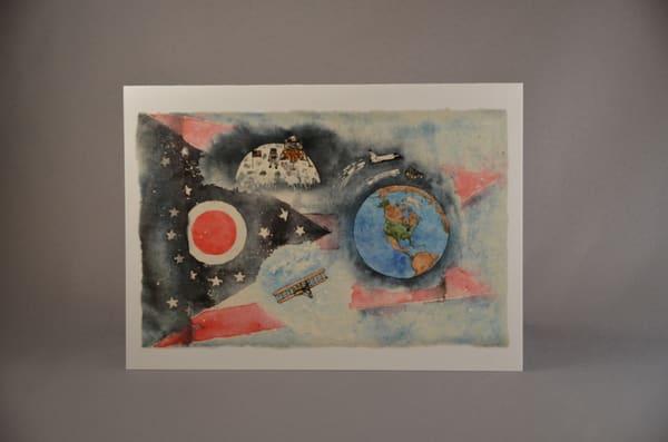 Ohio's First Sons Of Flight   Fine Art Card   Bellz Artistry