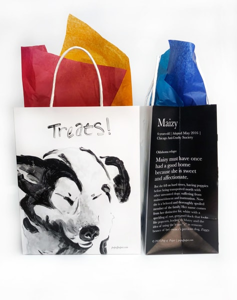 Maizy: Treat Gift Bag Art | Youngi-Sumistyle pets