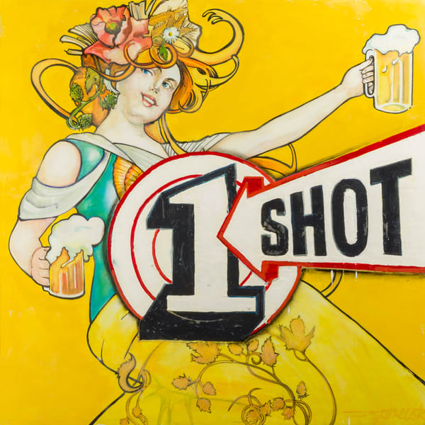 One Shot Two Beers Art | Jeff Schaller