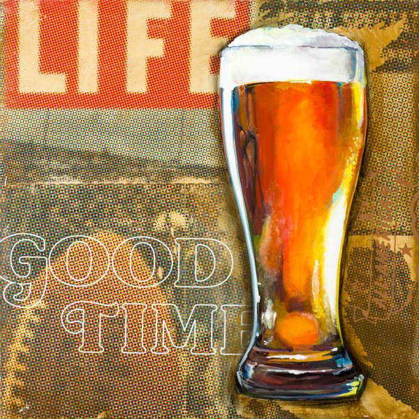 Good T Imes Beer Art | Jeff Schaller