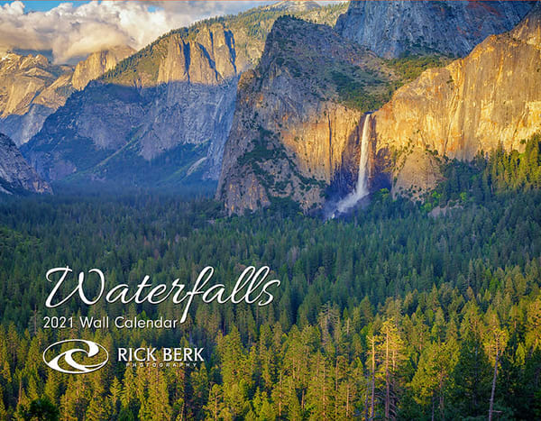 2021 Waterfalls Calendar | Shop Photography by Rick Berk