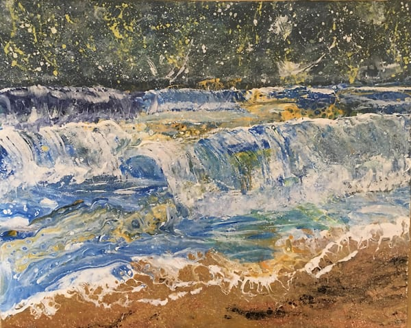 Night Storm 1 Art | Rowena Art Shop