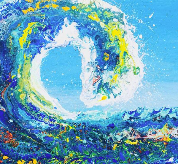 Wave Of Dreams Art | Rowena Art Shop