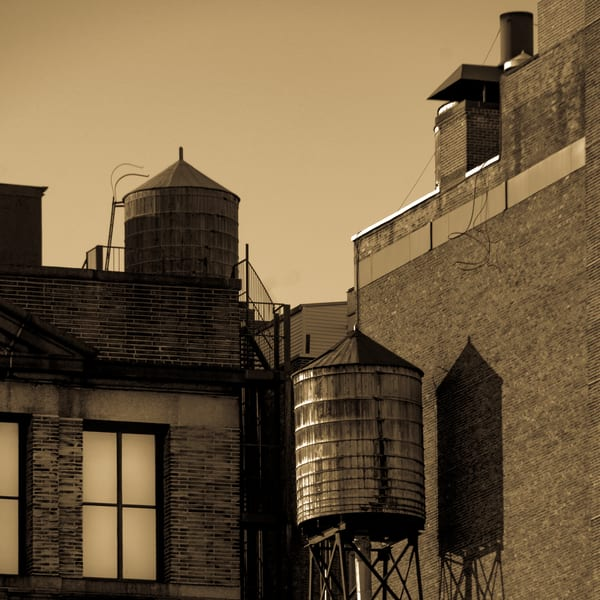 Chelsea Water Towers, Nyc #2 Photography Art | Ben Asen Photography