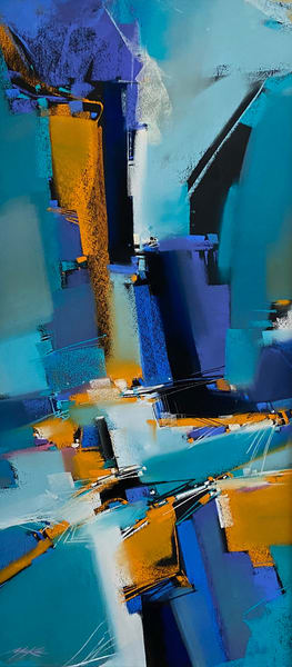 Cerulean Town Art | Michael Mckee Gallery Inc.