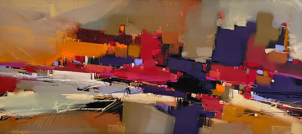 Cadmium Concerto Art | Michael Mckee Gallery Inc.