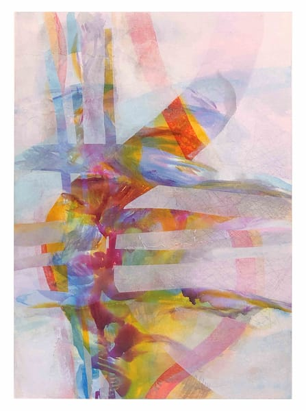 Caravan - Original Abstract Painting | Cynthia Coldren Fine Art