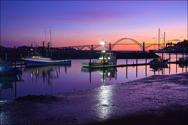 Fishing Boats At Dusk Art | Shaun McGrath Photography