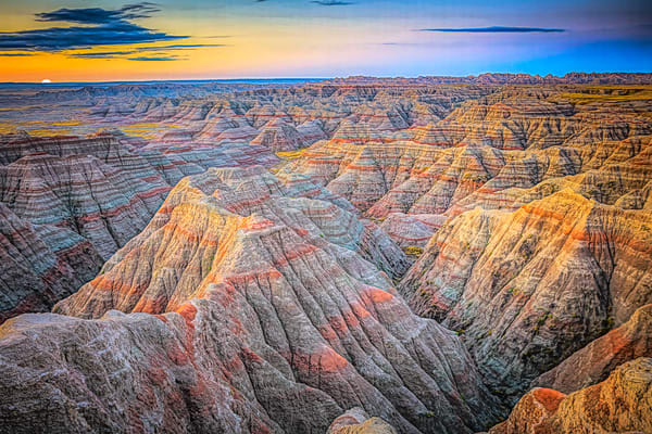 Badlands Sunrise Photography Art | Whispering Impressions