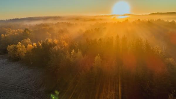 Philbrook Sunrise  Photography Art   Whispering Impressions