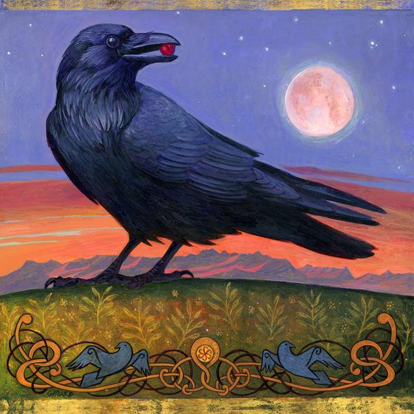 Wanderer's Moon Art | Studio Girard