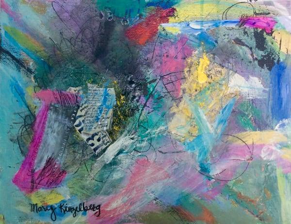 Salmon Run Art | Mary Kinzelberg Art