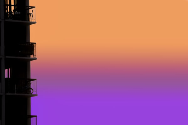 Balcony View Art | davinart