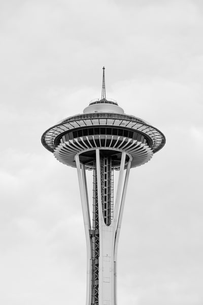 Space Needle, Seattle, Washington, 2014