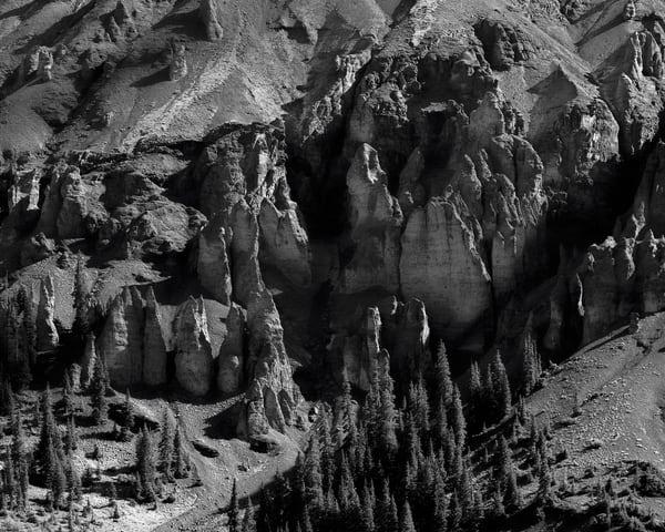 Stone Pillars, Stony Mountain, Colorado, 2013