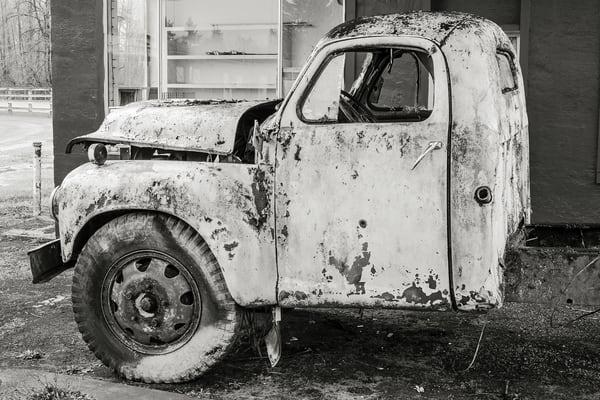 Rusty Studebaker Truck, Pe Ell, Washington, 2015