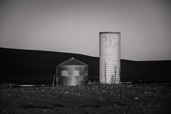 Two Silos, Kittitas County, Washington, 2011