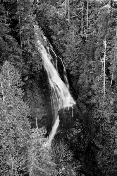 Vincent Creek Falls, Mason County, Washington, 2014