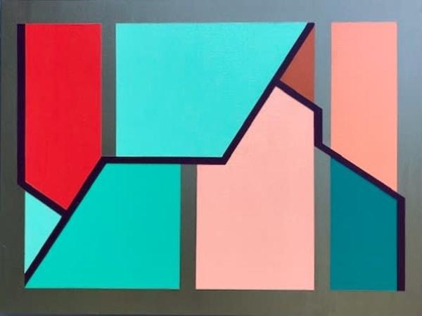 Q Line One Art | MatteoArt