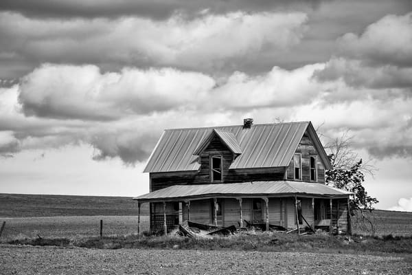 Abandoned Farm House, 1st Road NW, Douglas County, Washington, 2013