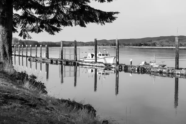 Willapa River Waterfront No. 6, South Bend, Washington, 2018