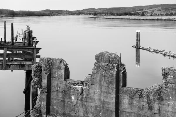 Willapa River Waterfront No. 8, South Bend, Washington, 2018