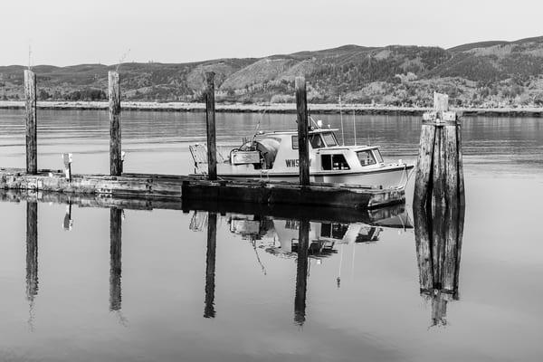 Willapa River Waterfront No. 5, South Bend, Washington, 2018