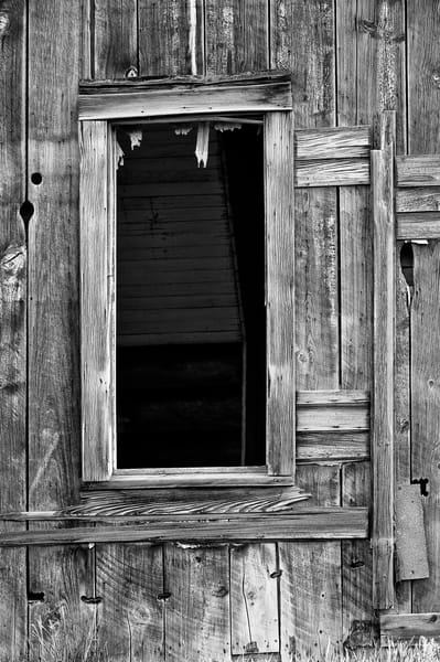Window of Abandoned House, 8-1/2 Road NW, Douglas County, Washington, 2013