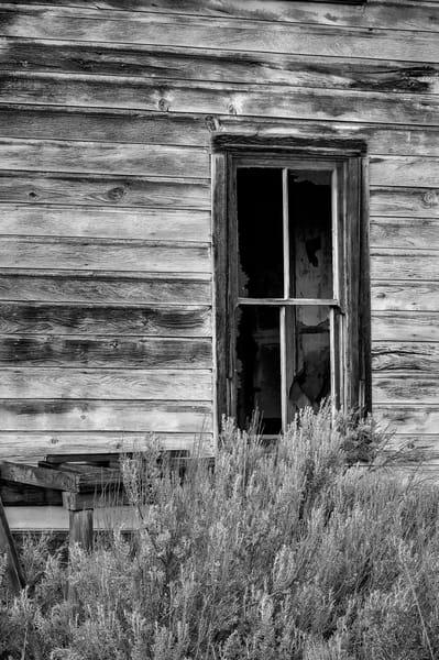 Window of an Abandoned House, Alstown, Washington, 2013