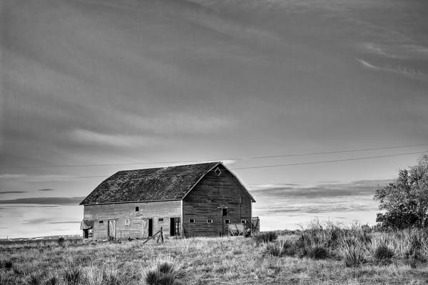 Abandoned Barn, D Road NW, Douglas County, Washington, 2013