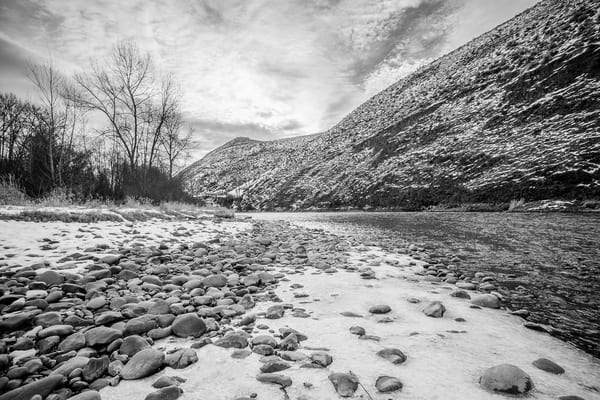 Winter on the Yakima River, Kittitas County, Washington, 2013