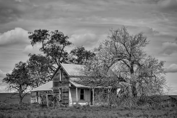 Abandoned Farm House, A Road SW, Douglas County, Washington, 2013