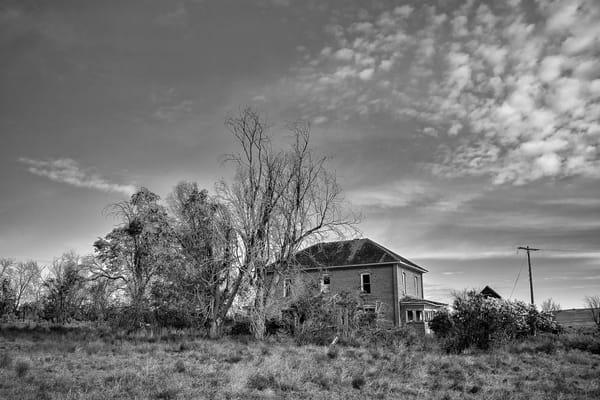 Abandoned Farmstead, D Road NW, Douglas County, Washington, 2013