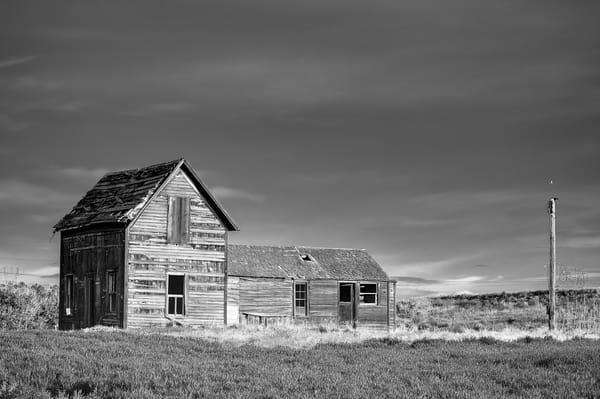 Abandoned House, 8-1/2 Road NW, Douglas County, Washington, 2013
