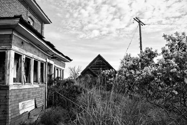 Abandoned House, D Rd NW, Douglas County, Washington, 2013
