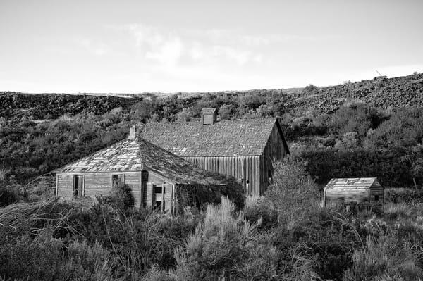 Abandoned House & Barn, Alstown, Washington, 2013