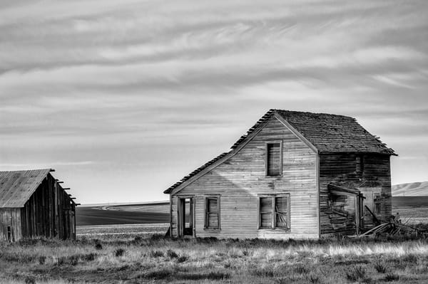 Abandoned House, Q Rd NW, Douglas County, Washington, 2013