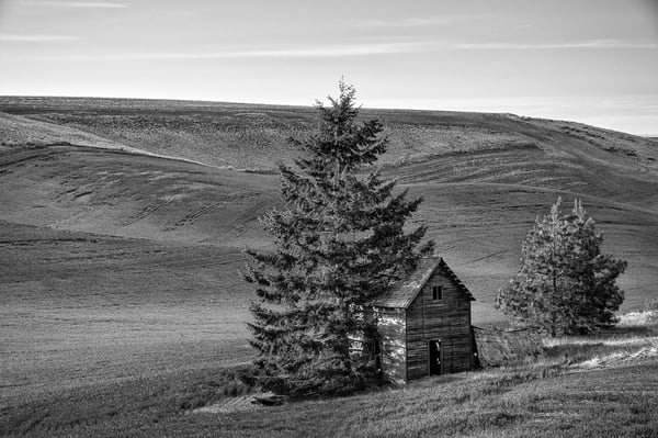 Abandoned House, Road O NW, Douglas County, Washington, 2013