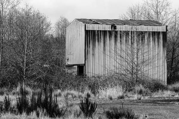 Abandoned Metal Building, Hoquiam, Washington, 2017