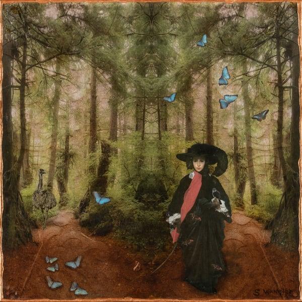 May Satoris In Paradise After Frederick Leighton Art | Sondra Wampler | fine art