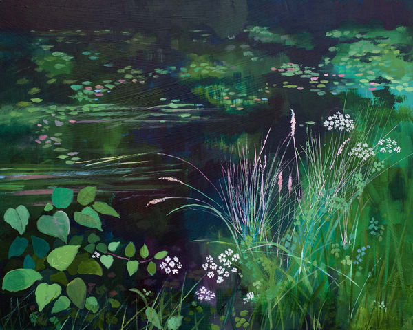 Canal Original Painting /Denise Di Battista