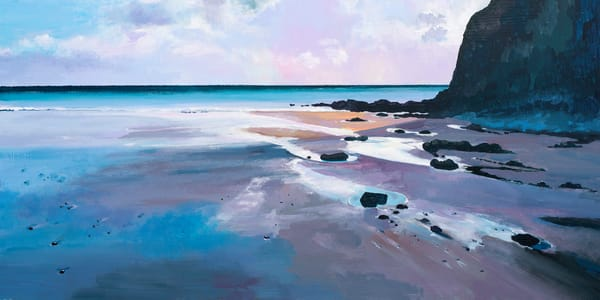 Pembrokeshire Beach Art print