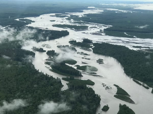 The Susitna River Joining The Chulitna River Photography Art | Visionary Adventures, LLC