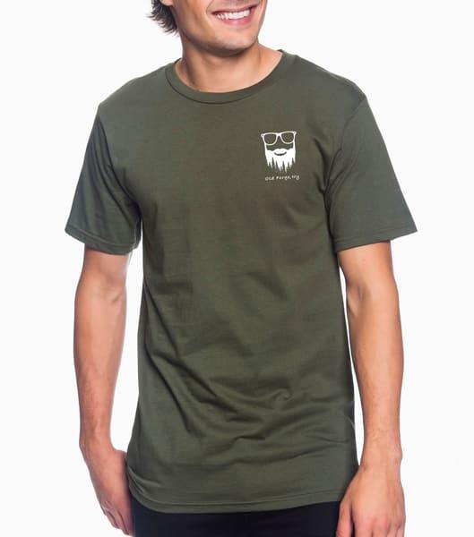 6 Million Acres Series / Unisex Lightweight T Shirt (City Green) | Kurt Gardner Photogarphy