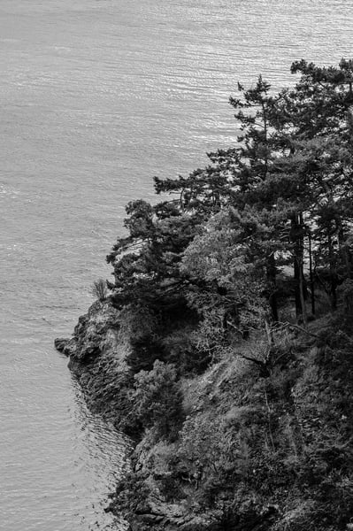 Coastline, Deception Pass State Park, Washington, 2015