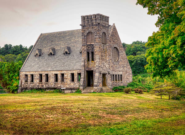 Old Stone Church Photography Art | Paul J Godin Photography