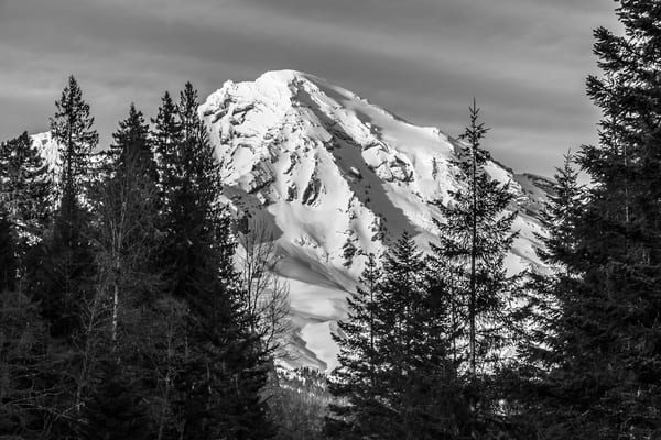 Mount Rainier at Tahoma Creek, Washington, 2016