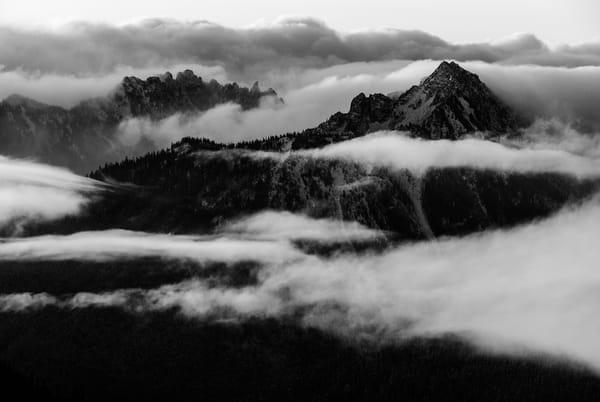 Mountain Ranges, Mount Rainier National Park, Washington, 2007